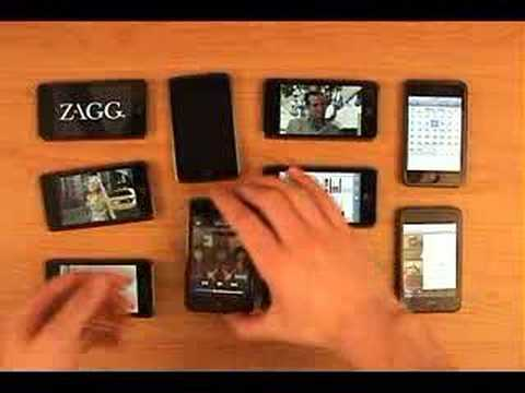 invisibleSHIELD™ – Apple iPod Touch Parody