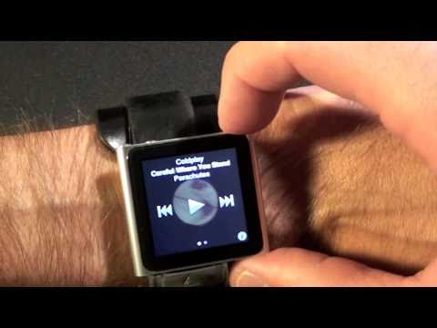 The iWatch: Apple iPod nano 6G Wrist Watch Setup
