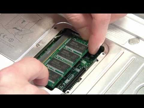 How to upgrade RAM in your Apple iBook G4