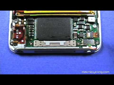 Take Apart Apple iPod Nano 3rd Generation (3G) – Disassembly