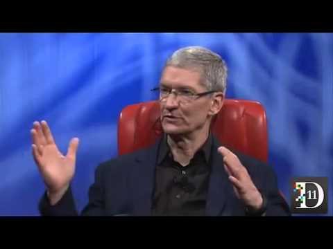 Apple CEO Tim Cook talks about iWatch, iOS7 and next big things at D11 AllthingsD