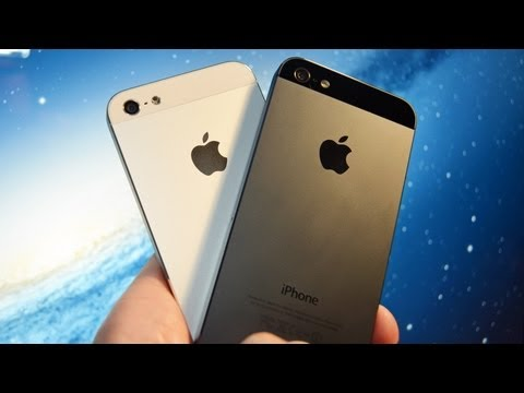 Apple iPhone 5 (White vs Black): Unboxing & Tour