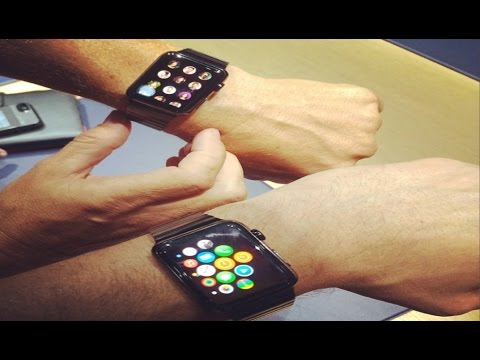 Introducing Apple iWatch First Look – Announces Present IPHONE 6 & Plus 6 (On Hands) HD!!!