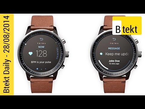 Samsung Gear S, LG G Watch R and Apple's iWatch – Btekt Daily
