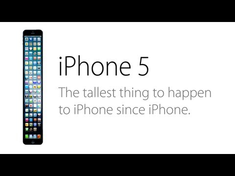 The iPhone 5S (Parody) Ad: A Taller Change