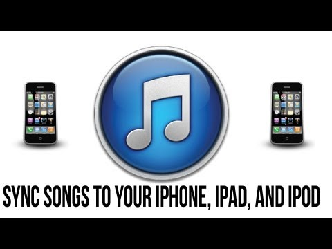 Itunes 11 Tutorial – How To Sync Songs To Your iPhone, iPad or iPod