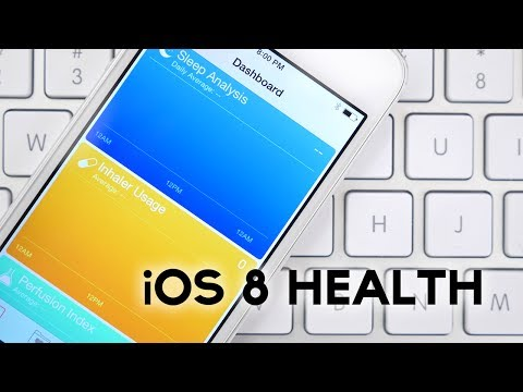 New in iOS 8: Health App And HealthKit (App For iWatch?)