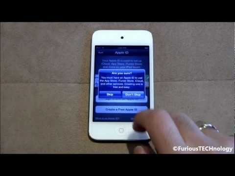 Apple iPod Touch 4G White Unboxing & Setup (1080p HD)