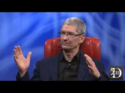 Tim Cook at D11: Full Session  – Apple CEO Tim Cook talks about iWatch, iOS7 and next big things