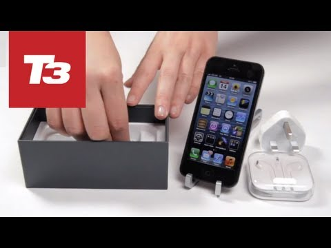 Apple iPhone 5 Unboxing — Exclusive & First on YouTube