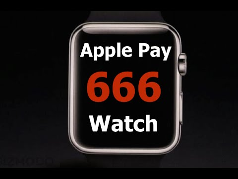 iPhone 666: Apple Pay Cashless Payment System for Apple Watch (iWatch)