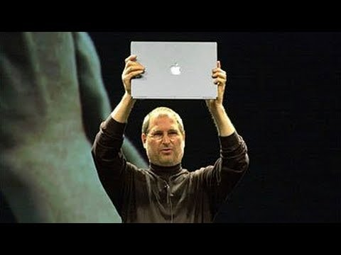 Steve Jobs introduces iTunes & PowerBook G4 Titanium – Macworld SF (2001)