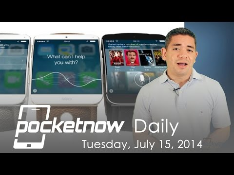 Three iWatch models, WP8.1 Lumia roll out, Amazon Glass & more – Pocketnow Daily