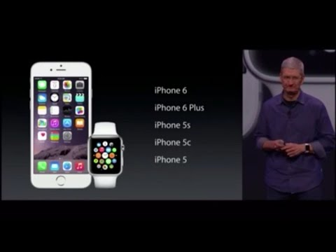 Apple Keynote FULL – September 9, 2014 – iPhone 6, iWatch, Apple Watch, iPhone 6 Plus! (Part 2 of 3)