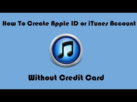 How To Create Apple ID or iTunes Account Without Credit Card