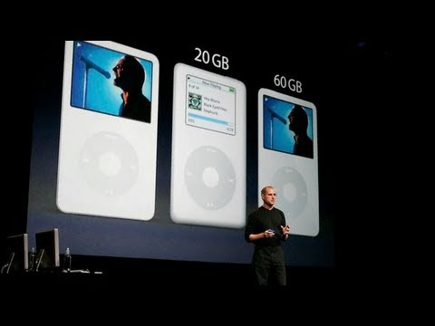 Steve Jobs introduces iPod video & TV Shows on iTunes – Apple Special Music Event (2005)