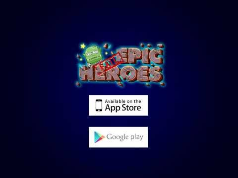 Epic Heroes!  Play Free on Apple iTunes and Google Play