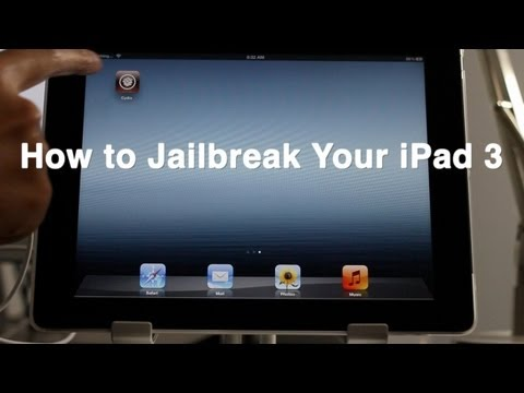 How to Jailbreak the iPad 3, iPhone 4S, iPad 2, etc. w/ Absinthe 2.0 iOS 5.1.1 Untethered Jailbreak