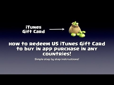 How to redeem US iTunes Gift Card in any countries!