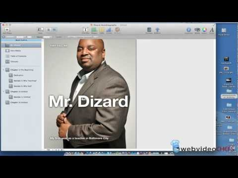 Insert a movie into your iBook
