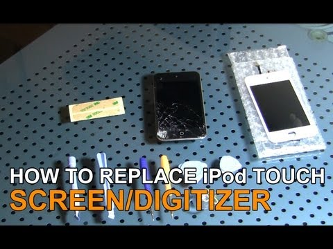 Repair a 4th Generation Apple iPod Touch Screen and Digitizer In Under 20 Minutes