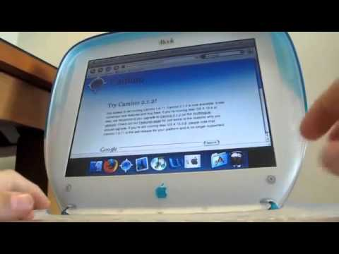 Using the iBook G3 in the modern world