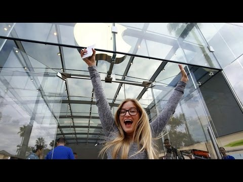 First in line for iPhone 6 – The Story | iJustine