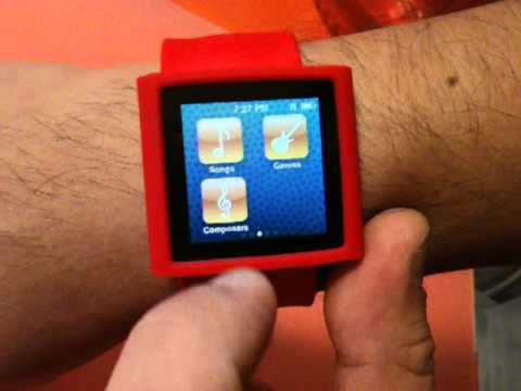 Apple iWatch – modified from Apple iPod Nano