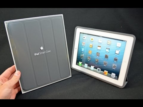 Apple iPad Smart Case: Unboxing & Review