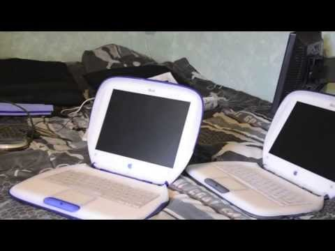 Déballage – iBook Palourde / Clamshell = Special Edition  Unboxing / Collector / Mac / iBook G3/G4 /