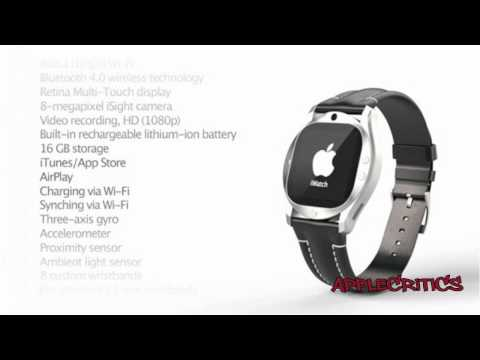Apple iWatch Concept- The Next Evolution Of The iPod Nano To Be Released Soon