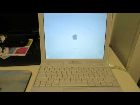 Apple iBook G4 12″ A1133 Laptop 1.33GHz,512MB, 40GB
