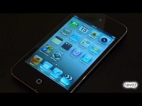 New Apple iPod Touch 4G Unboxing and Review