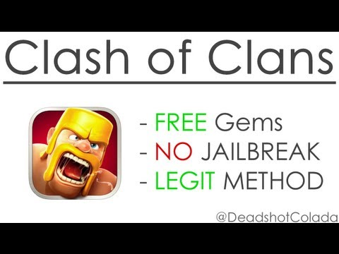 Clash of Clans Hack – iPhone, iPod, iPad, Android (no jailbreak)?