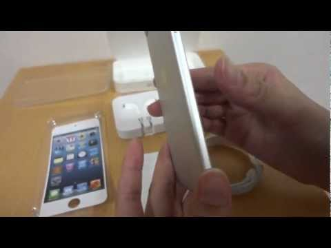 First Look / Unboxing – Apple iPod Touch 5 (5th Gen) 64GB Silver / White & Comparison with 4th Gen