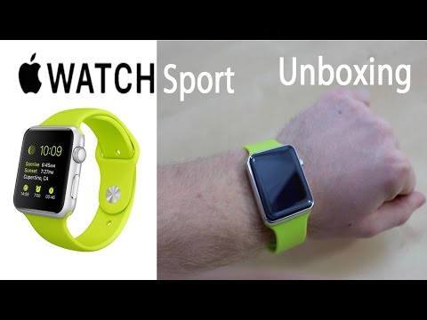 Apple Watch Unboxing & First Look | Apple Watch Fake iWatch Sport Edition