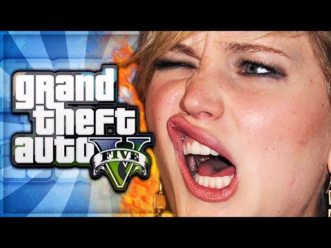 GTA 5 Online Funny Moments – Jennifer Lawrence Leaked, iWatch, Adult TV, Apartment Fun!