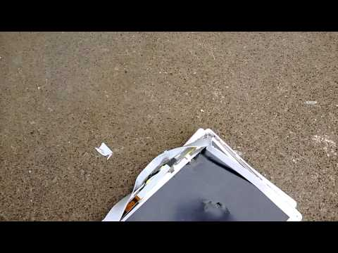 Destruction of an Apple iBook G4