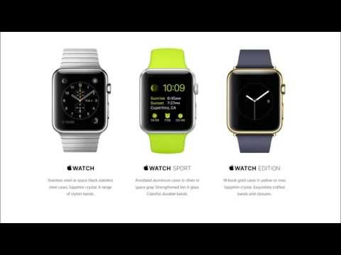 introducing Apple Watch – Apple iwatch Specs & features! [REVIEW]