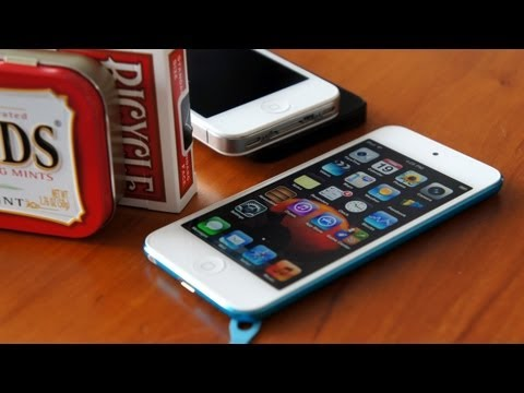 Quick Look at the Apple iPod Touch (5th Generation, 2012)