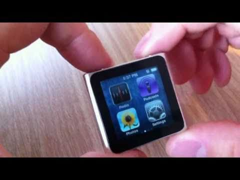 Apple iPod nano 6G Review