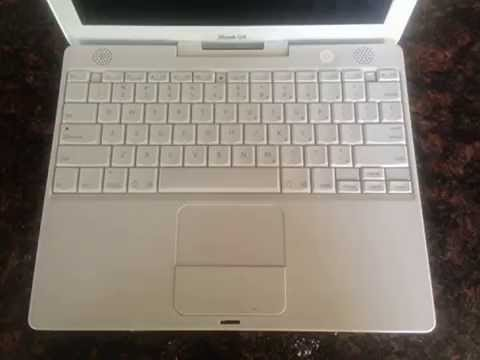 Details Apple iBook G4, 1.33 GHz, 768MB RAM, 40 GB Hard Drive, Inter Top