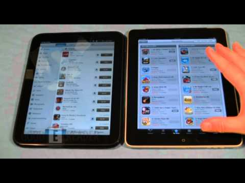HP Touchpad vs Apple iPad – iOS and WebOS Comparison