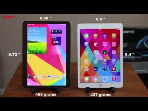 iPad Air 2 vs Samsung Galaxy Tab S 10.5″ Full Comparison