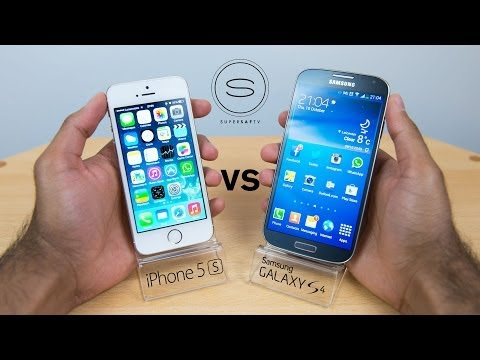 iPhone 5s vs Samsung Galaxy S4 – Hands-on