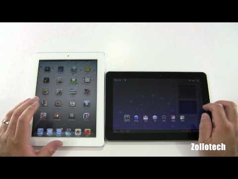 Apple iPad 2 vs Samsung Galaxy Tab 10.1