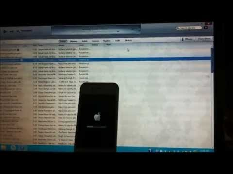 How to update iOS 6.1.2 in your apple device through iTunes on a Laptop ?