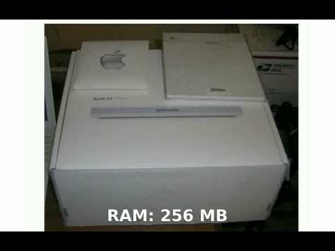 Apple iBook G4 12 inch  Review, Specification
