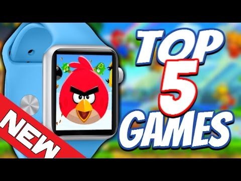 Top 5 Paid Apple Watch Games – New 2015 iWatch Gaming