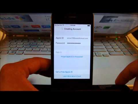 Making a FREE Apple ID or iTunes account directly from your iOS Device